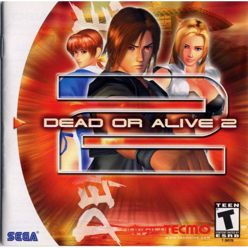 Dead or Alive 2 - Sega Dreamcast Game Complete - YourGamingShop.com - Buy, Sell, Trade Video Games Online. 120 Day Warranty. Satisfaction Guaranteed.
