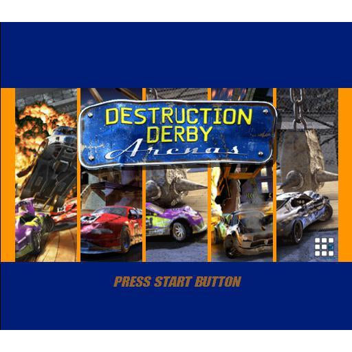 Destruction Derby: Arenas - PlayStation 2 (PS2) Game Complete - YourGamingShop.com - Buy, Sell, Trade Video Games Online. 120 Day Warranty. Satisfaction Guaranteed.