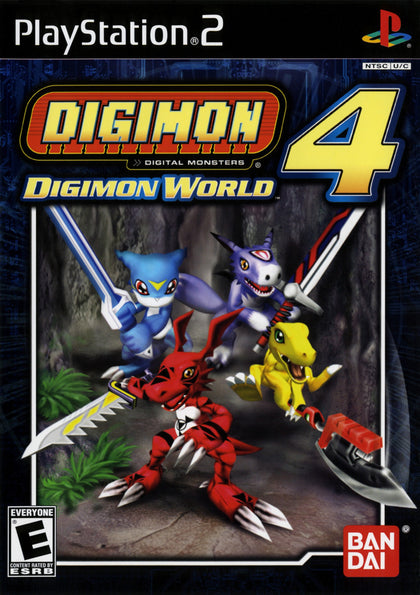 Digimon World 4 - PlayStation 2 (PS2) Game