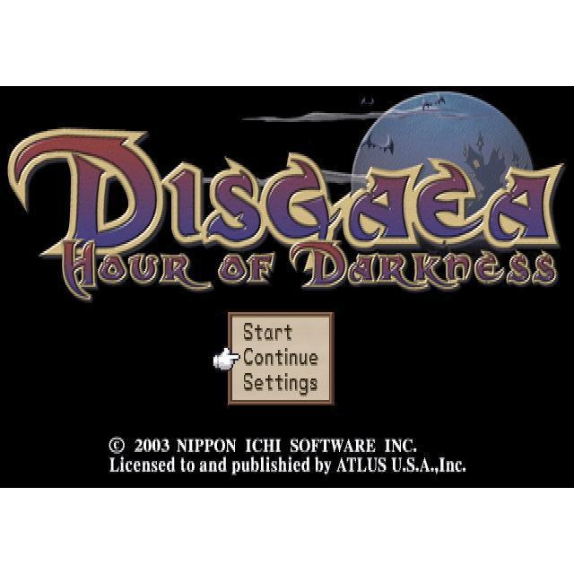Disgaea: Hour of Darkness - PlayStation 2 (PS2) Game Complete - YourGamingShop.com - Buy, Sell, Trade Video Games Online. 120 Day Warranty. Satisfaction Guaranteed.