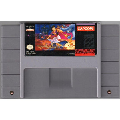 Disney's Aladdin - Super Nintendo (SNES) Game Cartridge - YourGamingShop.com - Buy, Sell, Trade Video Games Online. 120 Day Warranty. Satisfaction Guaranteed.