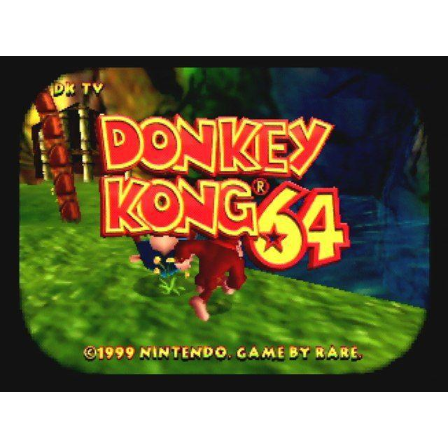 Donkey Kong 64 - Authentic Nintendo 64 (N64) Game Cartridge - YourGamingShop.com - Buy, Sell, Trade Video Games Online. 120 Day Warranty. Satisfaction Guaranteed.