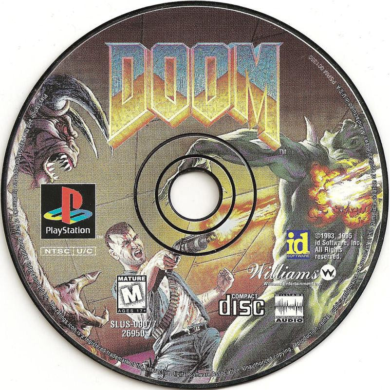 Doom (Long Box) - PlayStation 1 (PS1) Game Complete - YourGamingShop.com - Buy, Sell, Trade Video Games Online. 120 Day Warranty. Satisfaction Guaranteed.