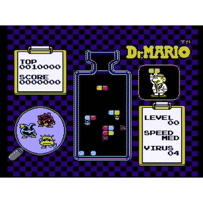 Your Gaming Shop - Dr. Mario - Authentic NES Game Cartridge