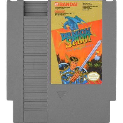 Dragon Spirit: The New Legend - Authentic NES Game Cartridge