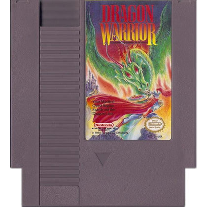 Your Gaming Shop - Dragon Warrior - Authentic NES Game Cartridge