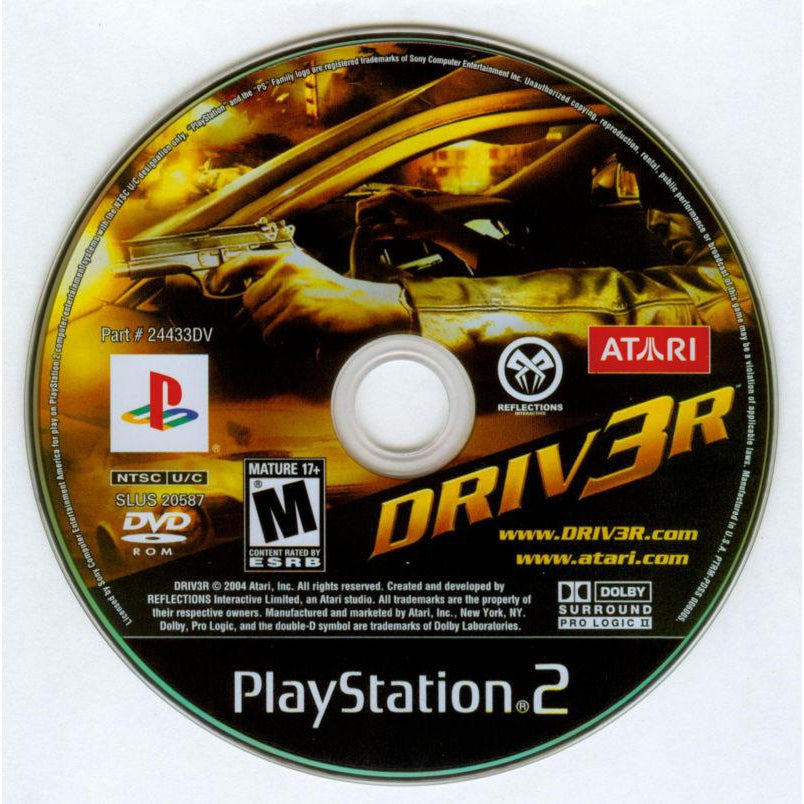 Your Gaming Shop - Driv3r (Driver 3) - PlayStation 2 (PS2) Game