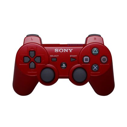 Sony PlayStation 3 DualShock 3 Analog Controller - Deep Red - YourGamingShop.com - Buy, Sell, Trade Video Games Online. 120 Day Warranty. Satisfaction Guaranteed.