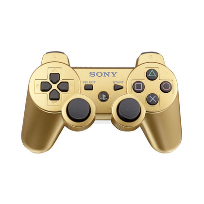 Sony PlayStation 3 DualShock 3 Analog Controller - Metallic Gold - YourGamingShop.com - Buy, Sell, Trade Video Games Online. 120 Day Warranty. Satisfaction Guaranteed.