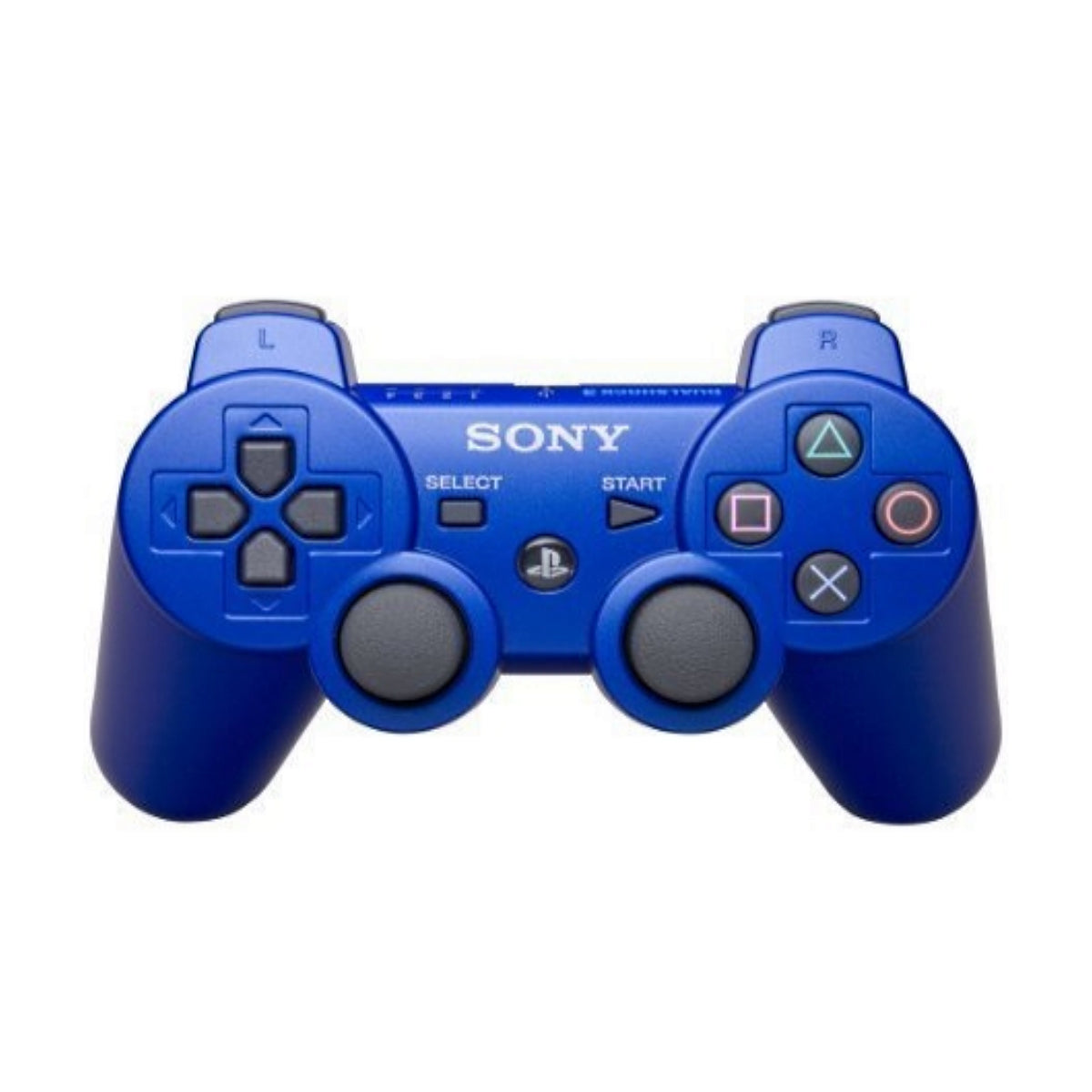 Sony PlayStation 3 DualShock 3 Analog Controller - Metallic Blue - YourGamingShop.com - Buy, Sell, Trade Video Games Online. 120 Day Warranty. Satisfaction Guaranteed.