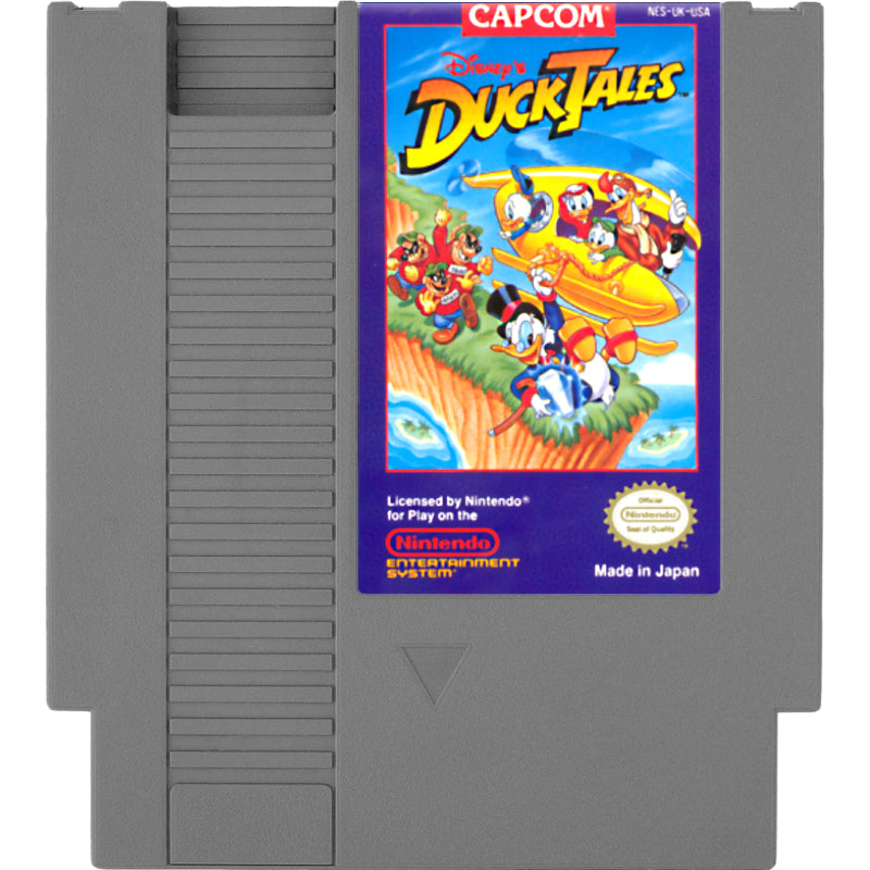 DuckTales - Authentic NES Game Cartridge - YourGamingShop.com - Buy, Sell, Trade Video Games Online. 120 Day Warranty. Satisfaction Guaranteed.