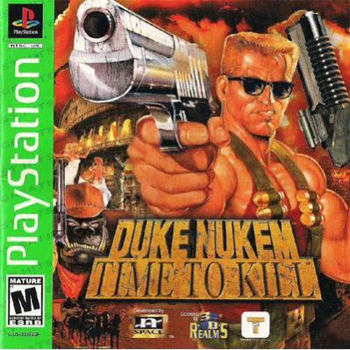 Duke Nukem: Time to Kill (Greatest Hits) - PlayStation 1 (PS1) Game Complete - YourGamingShop.com - Buy, Sell, Trade Video Games Online. 120 Day Warranty. Satisfaction Guaranteed.
