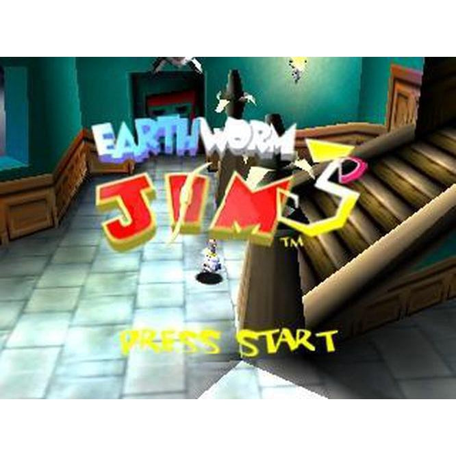 Earthworm Jim 3D - Authentic Nintendo 64 (N64) Game Cartridge - YourGamingShop.com - Buy, Sell, Trade Video Games Online. 120 Day Warranty. Satisfaction Guaranteed.