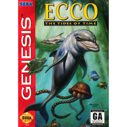 Ecco: The Tides of Time - Sega Genesis Game