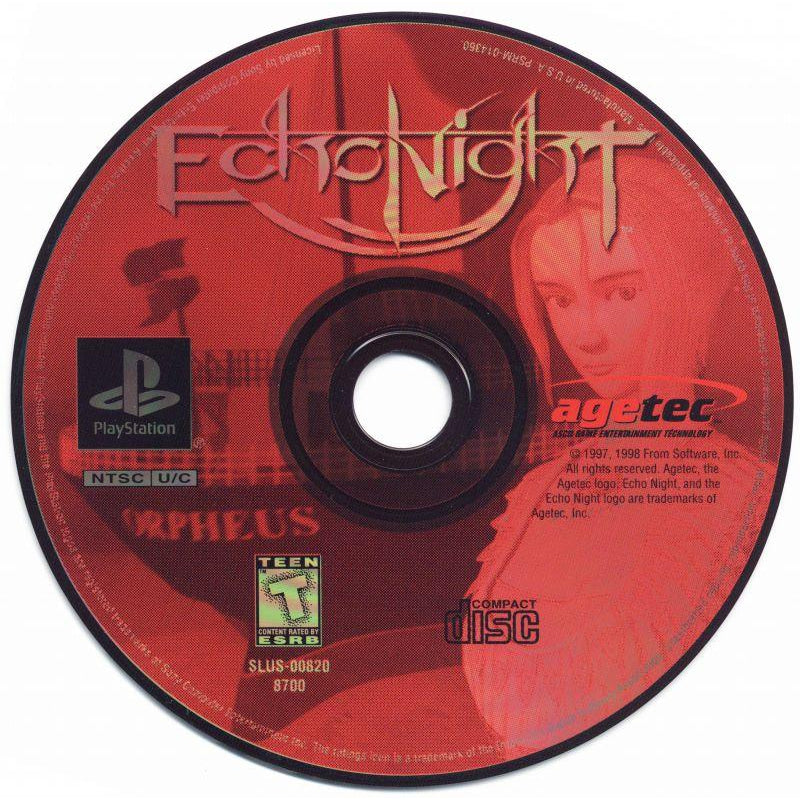 Echo Night - PlayStation 1 (PS1) Game Complete - YourGamingShop.com - Buy, Sell, Trade Video Games Online. 120 Day Warranty. Satisfaction Guaranteed.