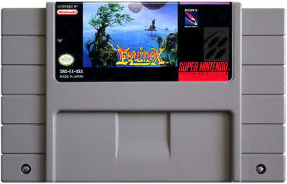 Equinox - Authentic Super Nintendo (SNES) Game Cartridge