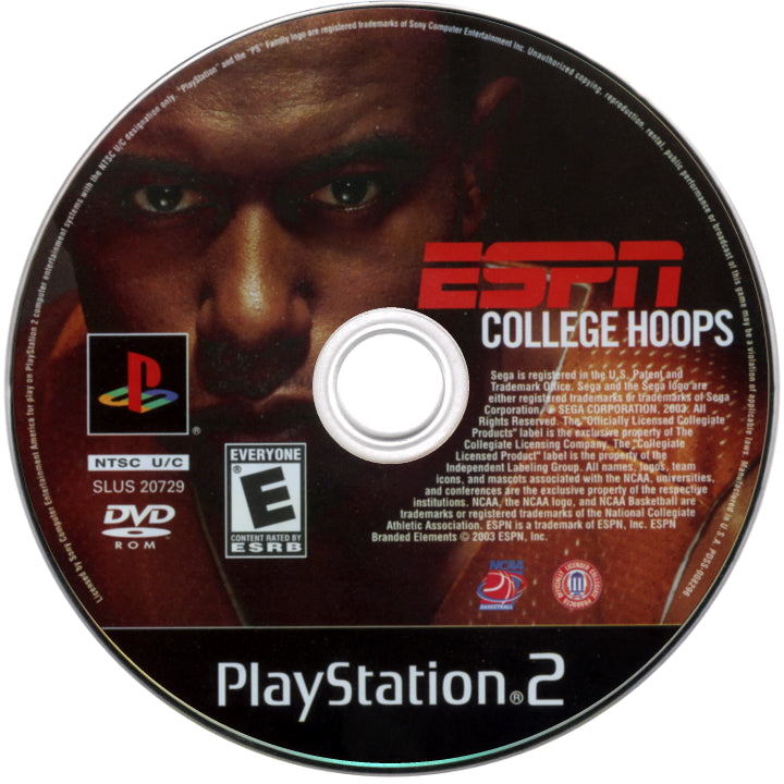 ESPN College Hoops - PlayStation 2 (PS2) Game