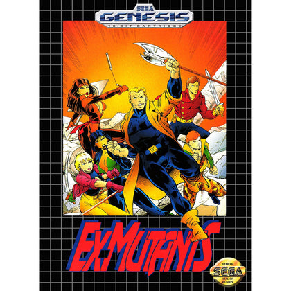 Ex-Mutants - Sega Genesis Game