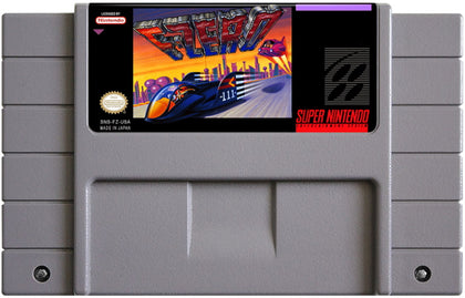 F-Zero - Super Nintendo (SNES) Game Cartridge