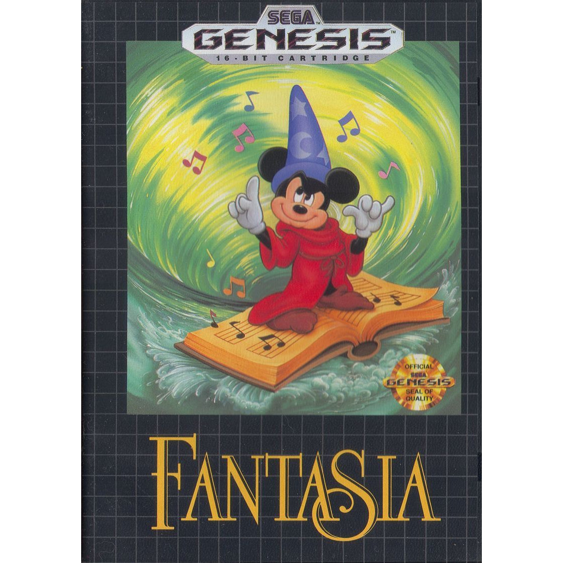 Fantasia - Sega Genesis Game Complete - YourGamingShop.com - Buy, Sell, Trade Video Games Online. 120 Day Warranty. Satisfaction Guaranteed.