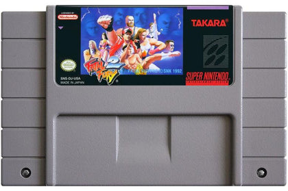 Fatal Fury 2 - Super Nintendo (SNES) Game Cartridge