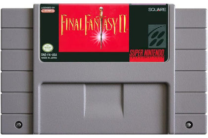 Final Fantasy II - Super Nintendo (SNES) Game Cartridge