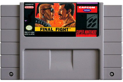 Final Fight - Super Nintendo (SNES) Game Cartridge