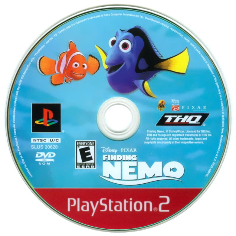 Finding Nemo (Greatest Hits) - PlayStation 2 (PS2) Game