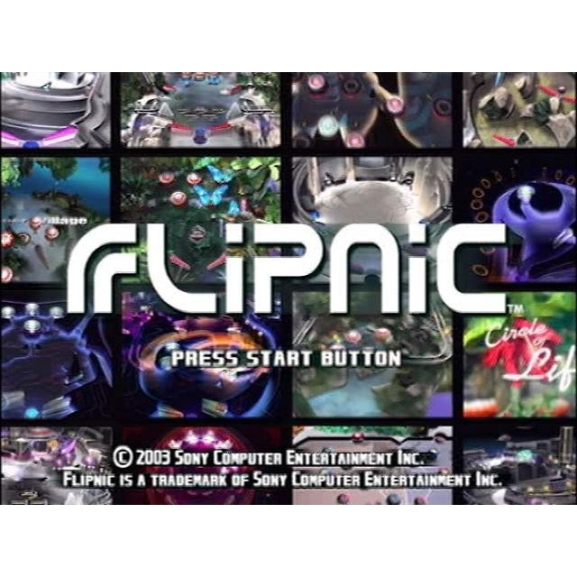 Flipnic: Ultimate Pinball  - PlayStation 2 (PS2) Game Complete - YourGamingShop.com - Buy, Sell, Trade Video Games Online. 120 Day Warranty. Satisfaction Guaranteed.