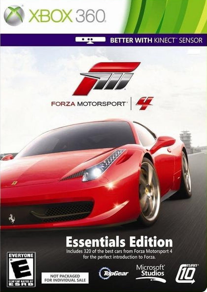 Forza Motorsport 4: Essentials Edition - Xbox 360 Game