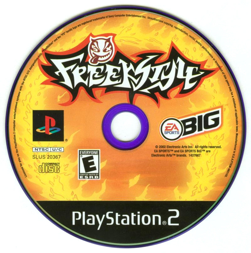 Freekstyle - PlayStation 2 (PS2) Game Complete - YourGamingShop.com - Buy, Sell, Trade Video Games Online. 120 Day Warranty. Satisfaction Guaranteed.