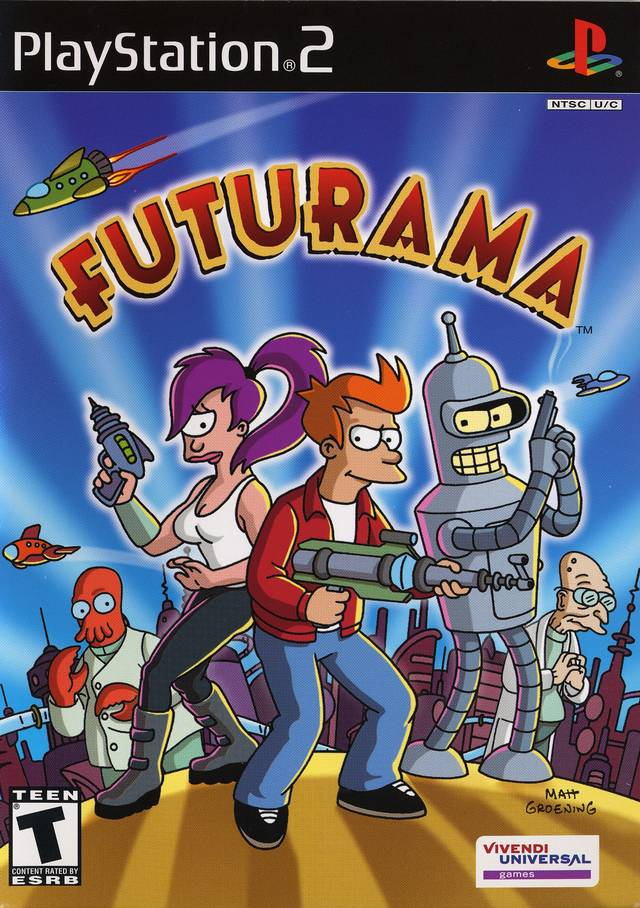 Futurama - PlayStation 2 (PS2) Game