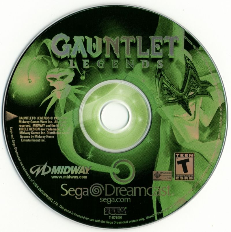 Gauntlet Legends - Sega Dreamcast Game Complete
