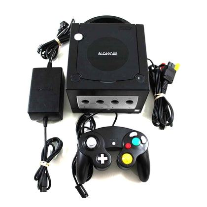 Nintendo GameCube Console System - Jet Black - YourGamingShop.com - Buy, Sell, Trade Video Games Online. 120 Day Warranty. Satisfaction Guaranteed.