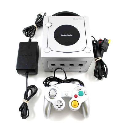 Nintendo GameCube Console System - Platinum - YourGamingShop.com - Buy, Sell, Trade Video Games Online. 120 Day Warranty. Satisfaction Guaranteed.