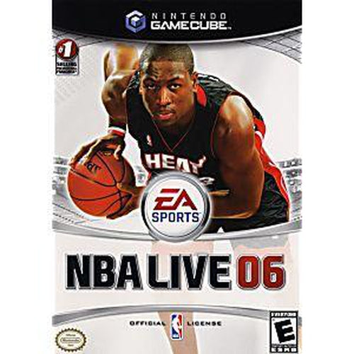 NBA Live 2006 - GameCube Game - YourGamingShop.com - Buy, Sell, Trade Video Games Online. 120 Day Warranty. Satisfaction Guaranteed.