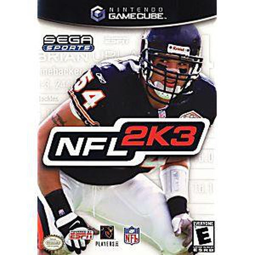 NFL 2K3 - GameCube Game - YourGamingShop.com - Buy, Sell, Trade Video Games Online. 120 Day Warranty. Satisfaction Guaranteed.