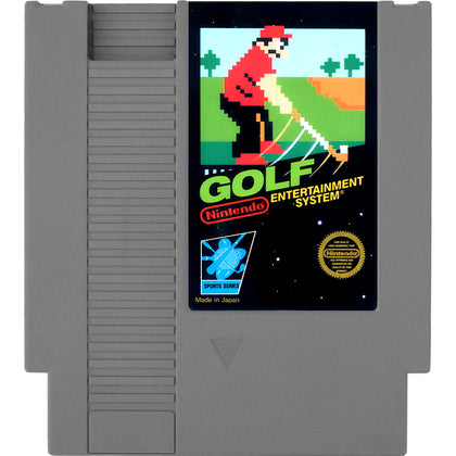 Golf - Authentic NES Game Cartridge