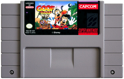 Goof Troop - Super Nintendo (SNES) Game Cartridge