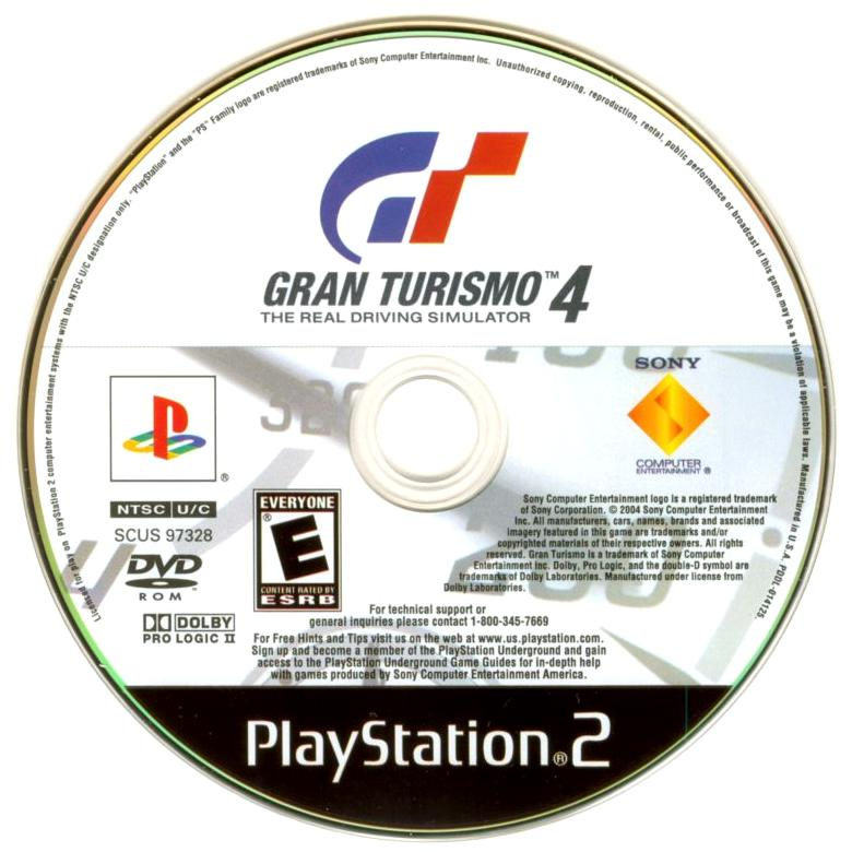 Your Gaming Shop - Gran Turismo 4 - PlayStation 2 (PS2) Game