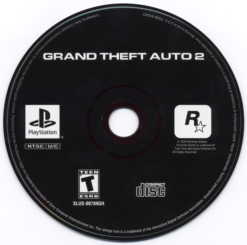 Grand Theft Auto 2 (GTA2) (Greatest Hits) - PlayStation 1 (PS1) Game