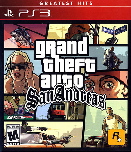 Grand Theft Auto: San Andreas - PlayStation 3 (PS3) Game