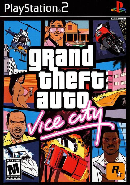 Your Gaming Shop - Grand Theft Auto: Vice City - PlayStation 2 (PS2) Game