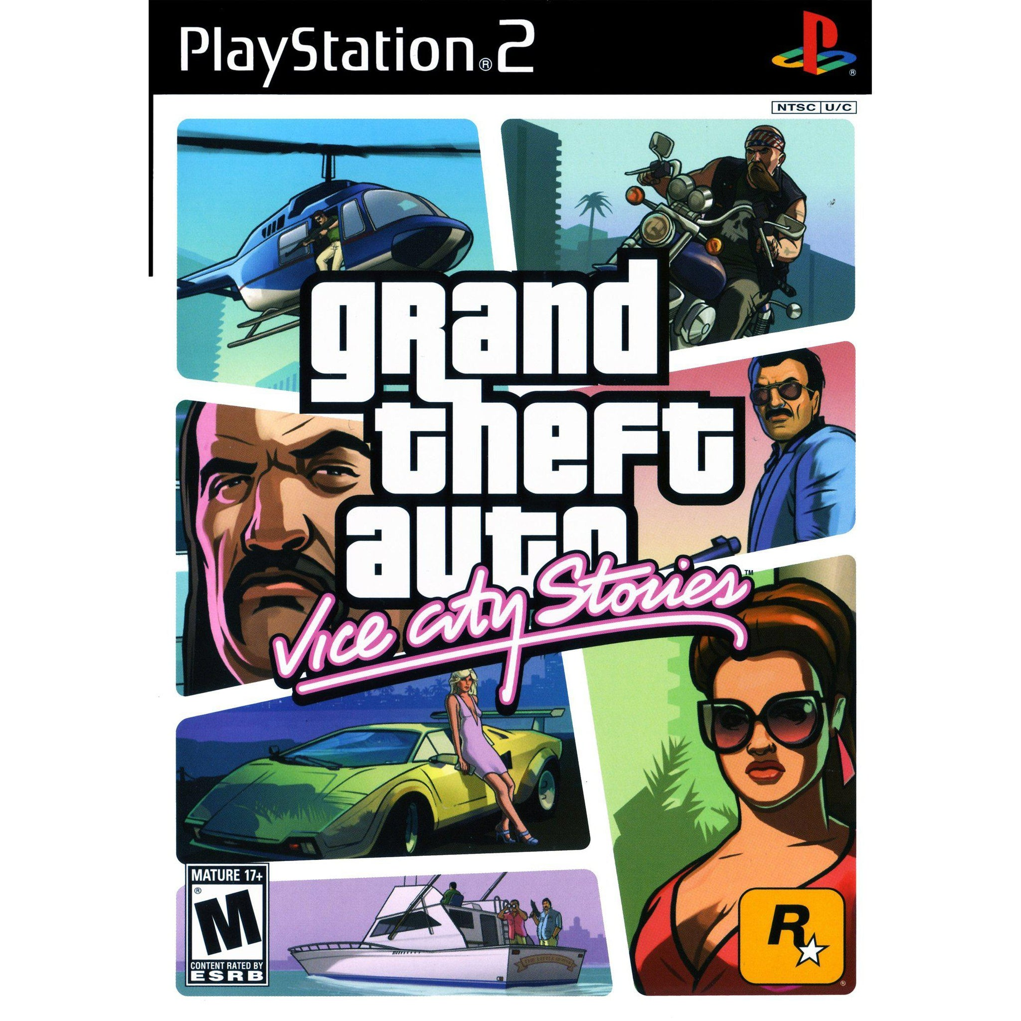 Grand Theft Auto: Vice City Stories - PlayStation 2 (PS2) Game Complete - YourGamingShop.com - Buy, Sell, Trade Video Games Online. 120 Day Warranty. Satisfaction Guaranteed.