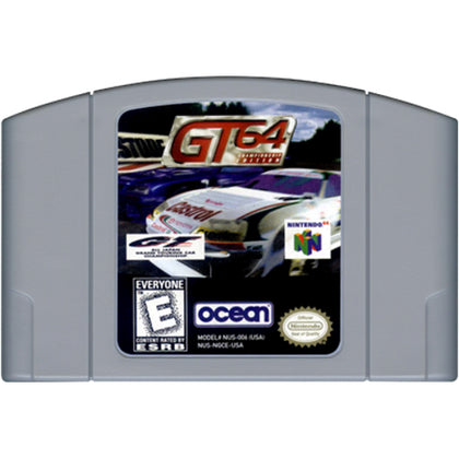GT 64: Championship Edition - Authentic Nintendo 64 (N64) Game Cartridge