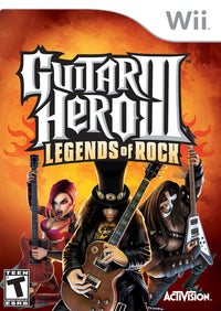 Guitar Hero III: Legends of Rock - Nintendo Wii Game