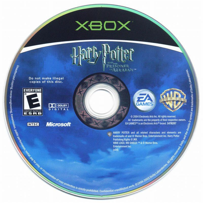 Harry Potter and the prisoner of Azkaban - Microsoft Xbox Game Complete - YourGamingShop.com - Buy, Sell, Trade Video Games Online. 120 Day Warranty. Satisfaction Guaranteed.