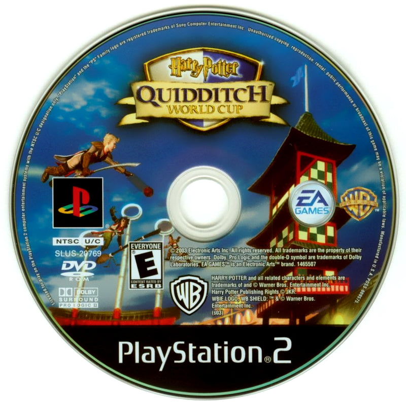Harry Potter: Quidditch World Cup - PlayStation 2 (PS2) Game