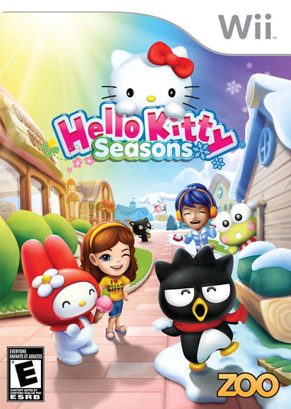 Hello Kitty Seasons - Nintendo Wii Game