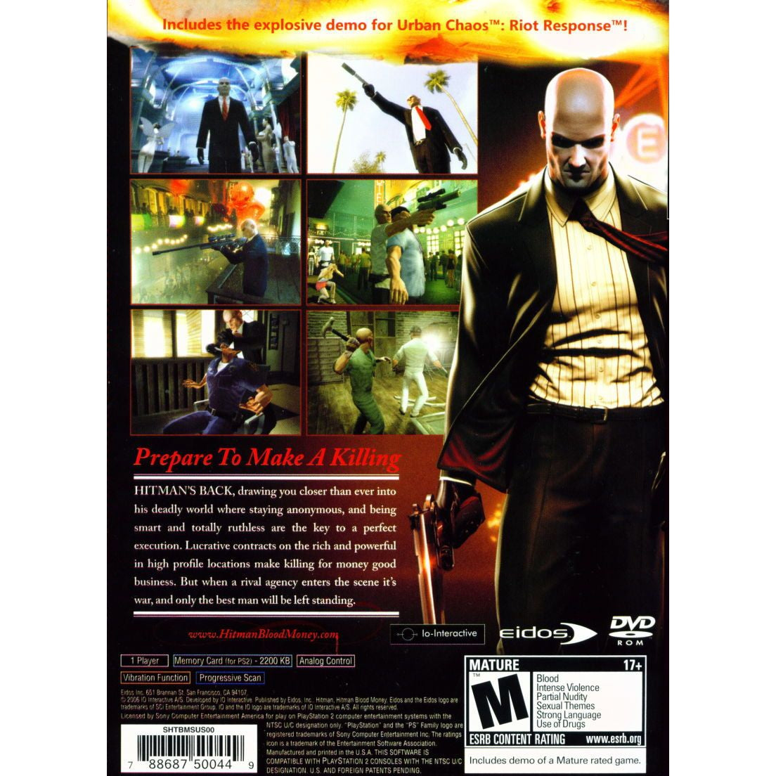 Hitman: Blood Money - PlayStation 2 (PS2) Game Complete - YourGamingShop.com - Buy, Sell, Trade Video Games Online. 120 Day Warranty. Satisfaction Guaranteed.
